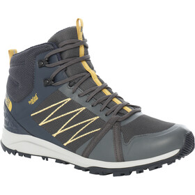 The North Face Litewave Fastpack II WP Mid-Cut Schuhe Herren tnf black/ebony grey